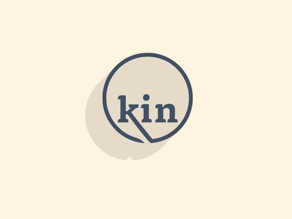 Kin logo design