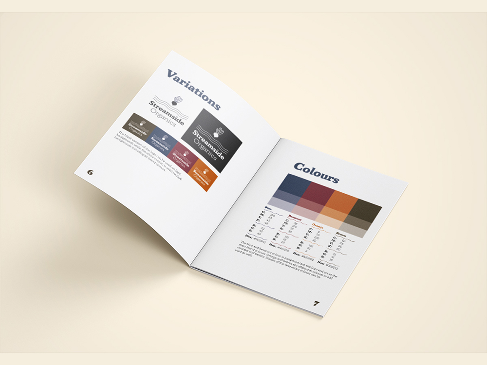 Brand Guidlines Colours